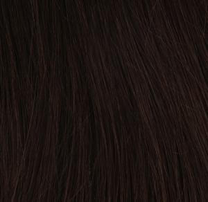 #2 Mörkbrun - Original äkta löshår remy tejp