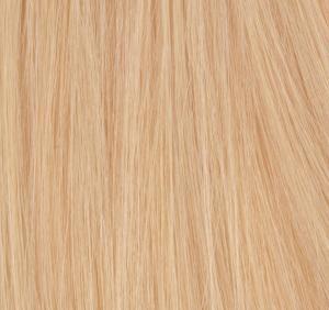 #20 Honungsblond - Original äkta löshår remy nagelslingor