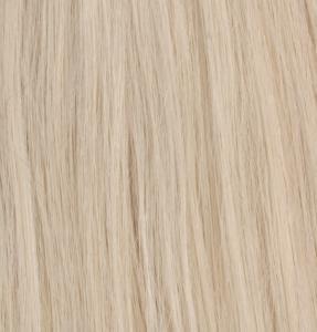 Premium Single Drawn äkta löshår microringar loop - Ljus platinablond #1001B