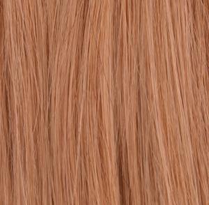 #16 Ljusbrun - Original äkta löshår remy nagelslingor