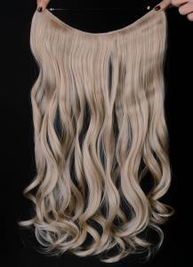 Syntetiskt löshår Gloriatråd lockigt - Blond #22