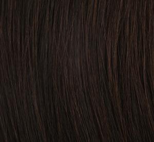 #2 Mörkbrun - Original äkta löshår remy nagelslingor