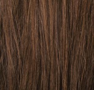 #6 Mellanbrun - Original äkta löshår remy microringar loop