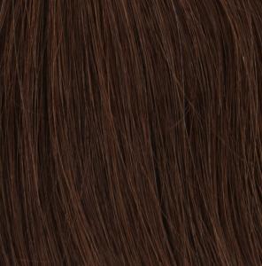#4 Mörkbrun - Original äkta löshår remy tejp