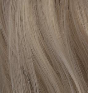 #F24/613 Blond - Hästsvans lockig med klämma syntetiskt löshår