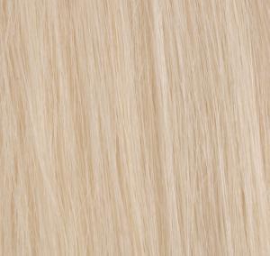 #60 Platinablond - Original äkta löshår remy tejp