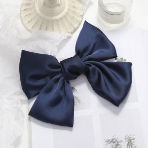 Hårklämma rosett - Blå