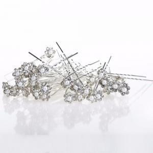 Hårnålar med pärlor för bal- och bruduppsättning