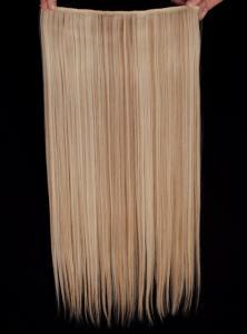 Löshår rakt 5 Clip on - Blond & Ljusbrun #F18/613