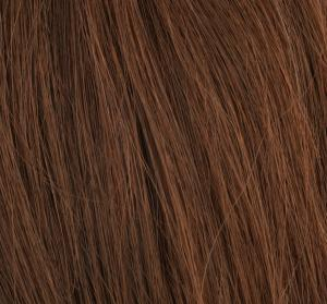 #6 Mellanbrun - Original äkta löshår remy nagelslingor