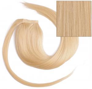 #22 Blond - Classic äkta löshår remy hästsvans wrap-on