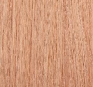 #27 Jordgubbsblond - Original äkta löshår remy microringar loop