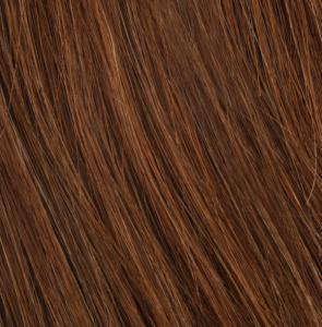 #8 Mellanbrun - Original äkta löshår remy nagelslingor
