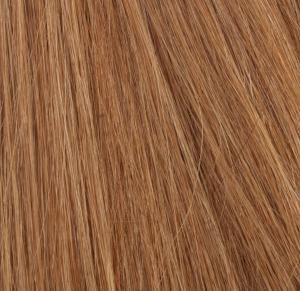 #12 Ljusbrun - Original äkta löshår remy nagelslingor