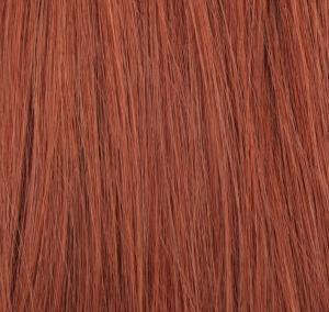 #30 Röd - Original äkta löshår remy microringar loop