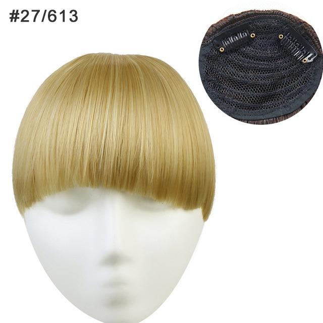 clip on lugg äkta hår